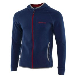 Babolat Babolat Junior Core Hoody, Estate Blue/Red (2018)