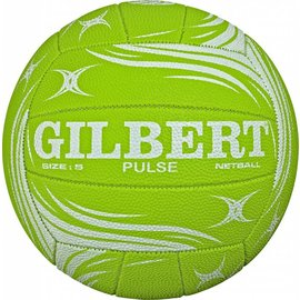 Gilbert Gilbert Netball Pulse Green/White 4