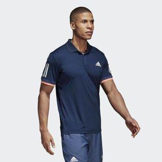 Adidas Adidas Mens 3 Stripe Polo Shirt - Navy (2018)