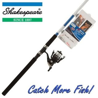 Shakespeare 'Catch More Fish' 9ft Sea Spinning Combo with Kit
