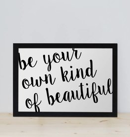 "Poster ""Beautiful"""
