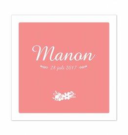 Geboortekaartje Manon