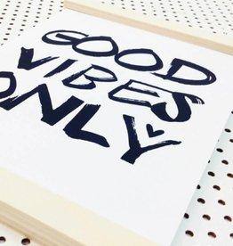 Ophangsysteem houten frame A4