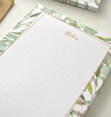 """Botanical """"notes"""" - Hip notablokje"""