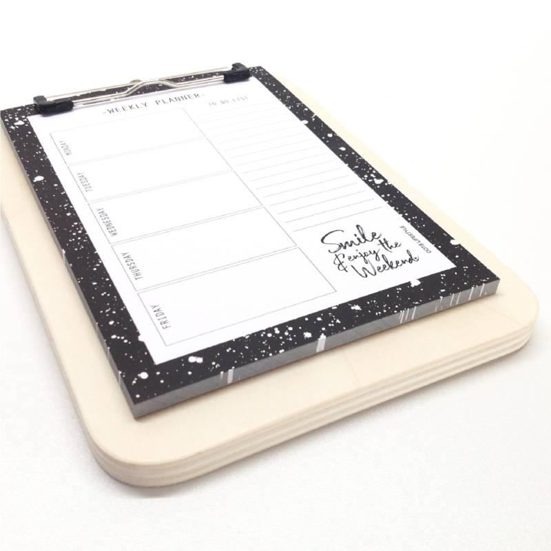 Clipboard A4 blanco