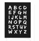 Wenskaart - X&O - Alfabet