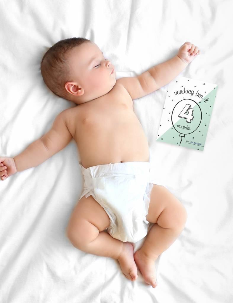 Mijlpaalkaartjes baby