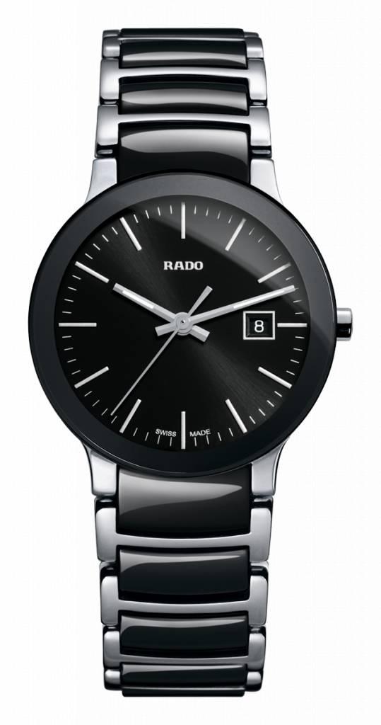 RADO Centrix Zwart Two-tone Ceramic Dameshorloge