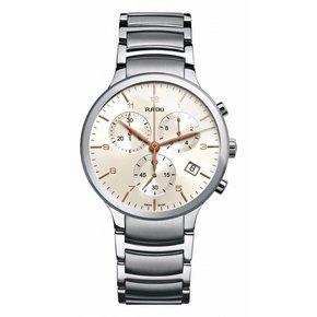 RADO Centrix Chronograph Silver Dial Stainless Steel Men's Watch