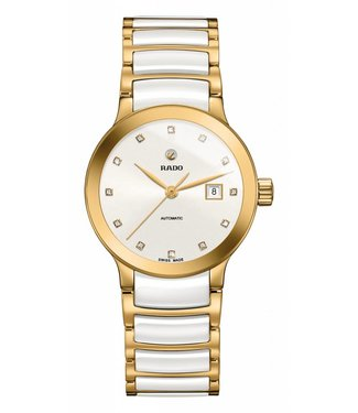 RADO Centrix White Diamond Dial Automatic Ladies Watch