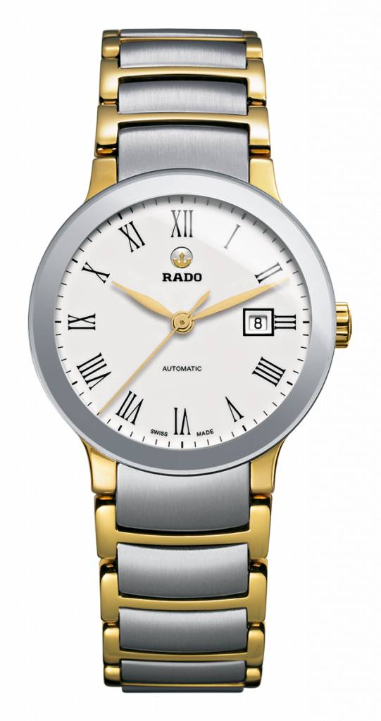 RADO Centrix White Dial Automatic Ladies Watch