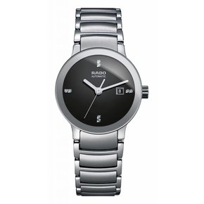 RADO Centrix Automatic Black Dial Stainless Steel Ladies Watch