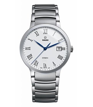 RADO Centrix Automatic White Dial Men's Stainless Steel Watch