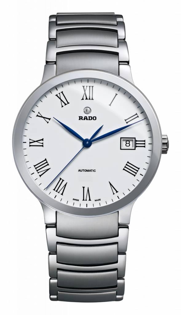 RADO Centrix Automatic White Dial Men's Stainless Steel Watch