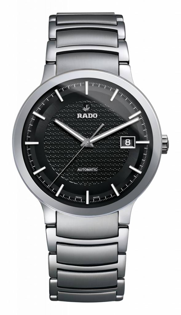 RADO Centrix Automatic Black Dial Stainless Steel Men's Watch