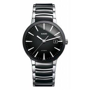 RADO Centrix Black Dial Stainless Steel and Ceramic Men's Watch