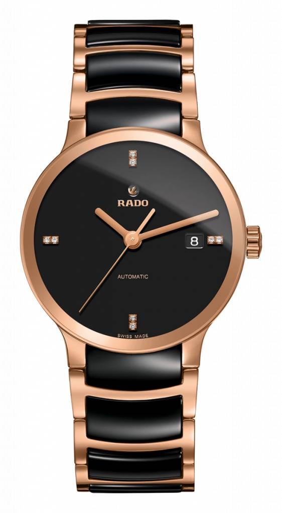 RADO Centrix Black Dial Automatic Unisex Watch