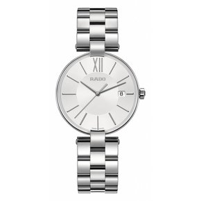RADO Coupole White Dial Ladies Stainless Steel Watch
