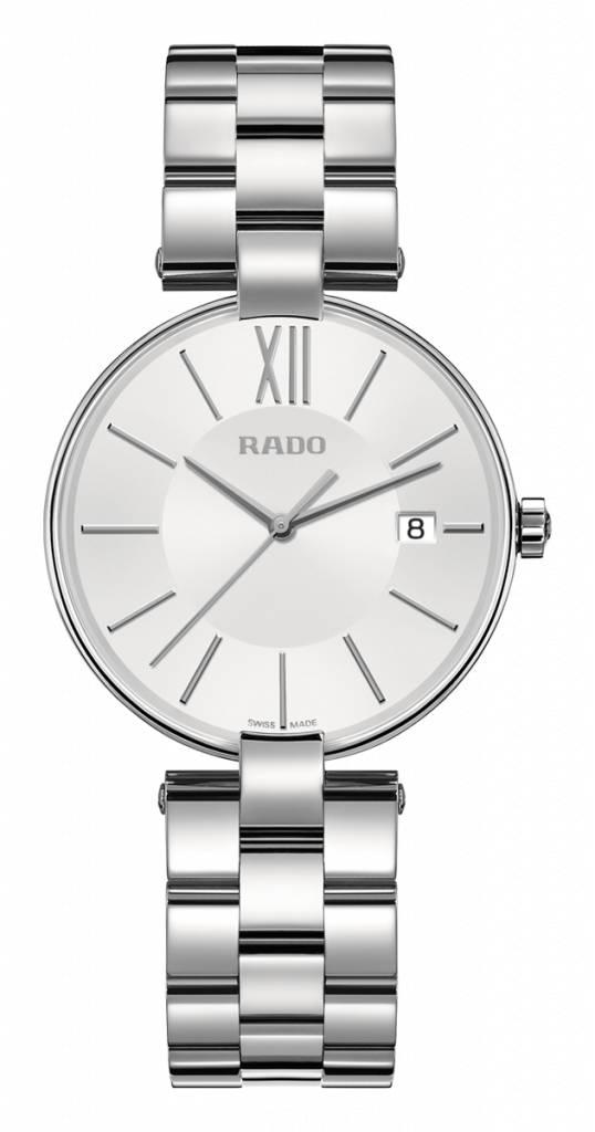 RADO Coupole White Dames Staal horloge