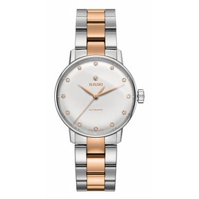 RADO Coupole Classic Automatic Silver Dial Two-tone Ladies Watch