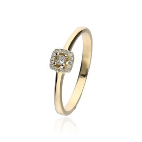 Zazare Ring 18Krt. Geelgoud Multiple Shape