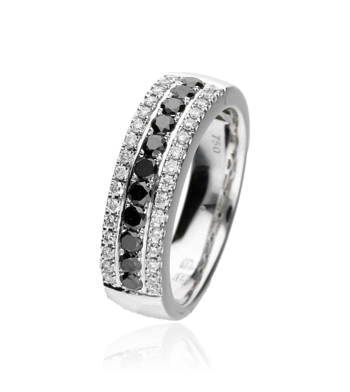 Zazare Ring 18Krt. White Gold Brilliant