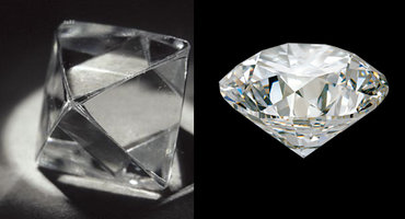 The diamond crystal