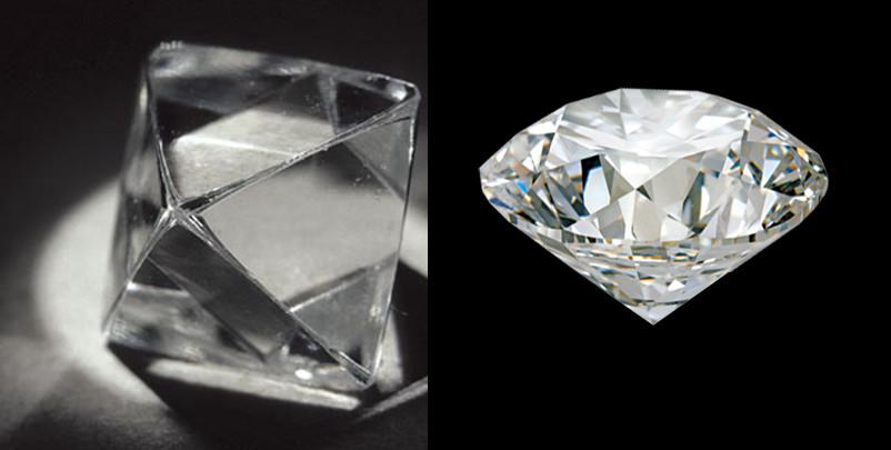 The diamond crystal