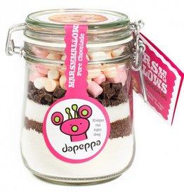 dapeppa Koekjespot Marshmallows Pure Chocolade