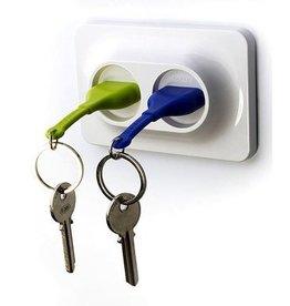 Unplug Key Ring Duo - Groen/Blauw