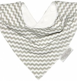 Silly Billyz Bandana Slab Grey Chevron
