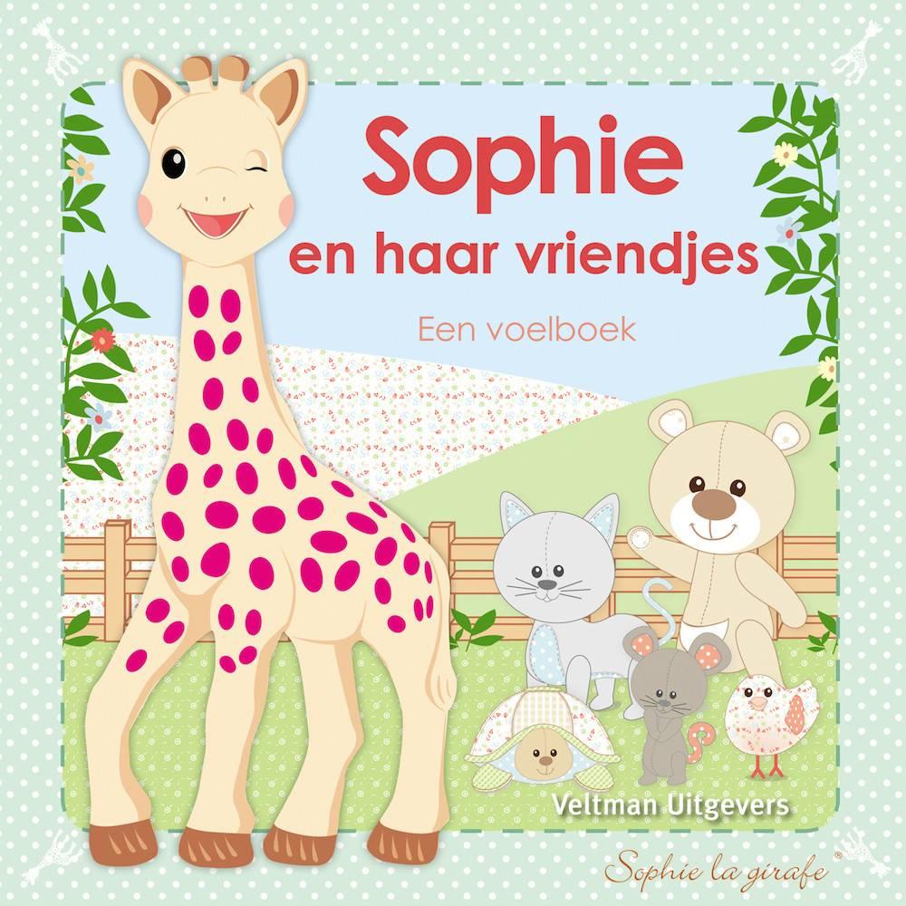 Sophie de Giraf Baby Voelboekje Sophie en haar Vriendjes