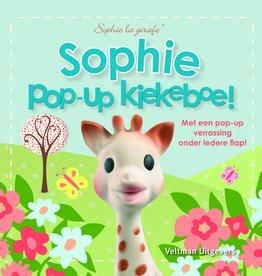 Sophie de Giraf Baby Pop-Up Boekje Kiekeboe!