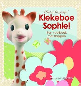 Sophie de Giraf Baby Voelboekje Kiekeboe Sophie!