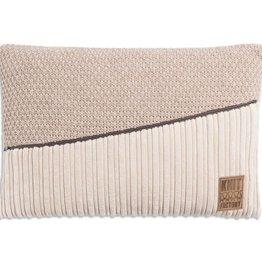 Knit Factory Kussen Sam Beige/Marron