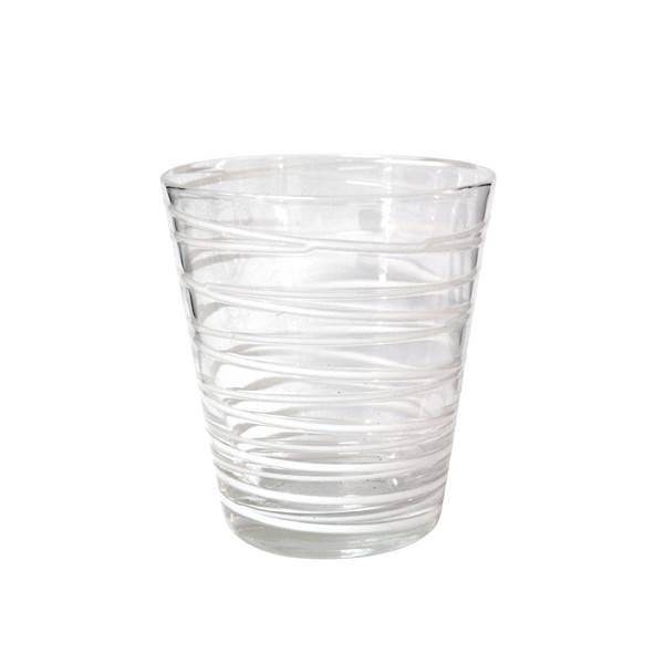 HK Living Drinkglas met Witte Strepen