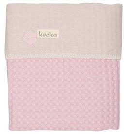 Koeka Wiegdeken Antwerp Old Baby Pink/Pebble