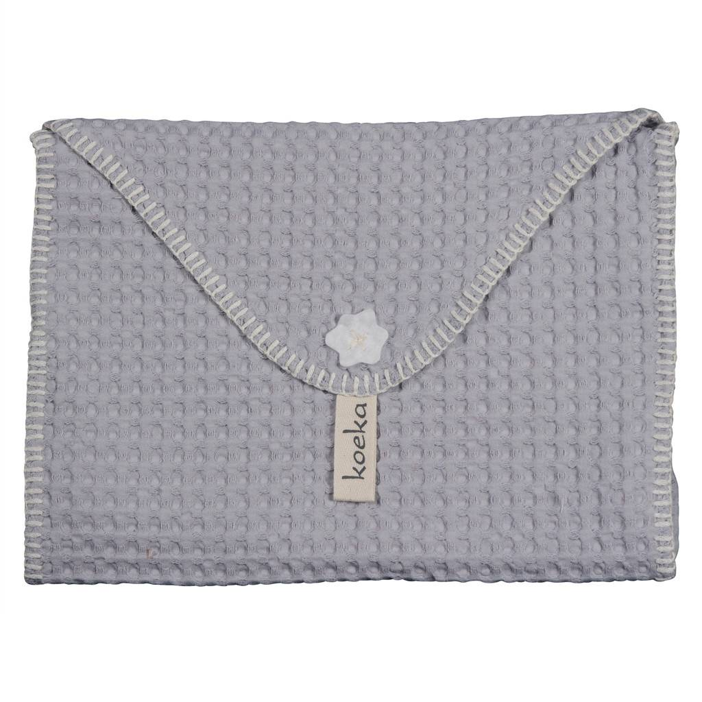 Koeka Baby Purse Extra Antwerp Silver Grey