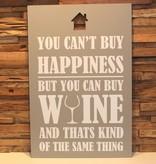 DDVM Tekstbord Wine