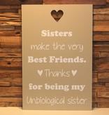 DDVM Tekstbord Sisters