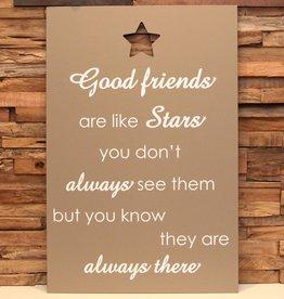 DDVM Tekstbord Good Friends