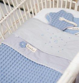 Koeka Wiegdeken Antwerp Soft Blue