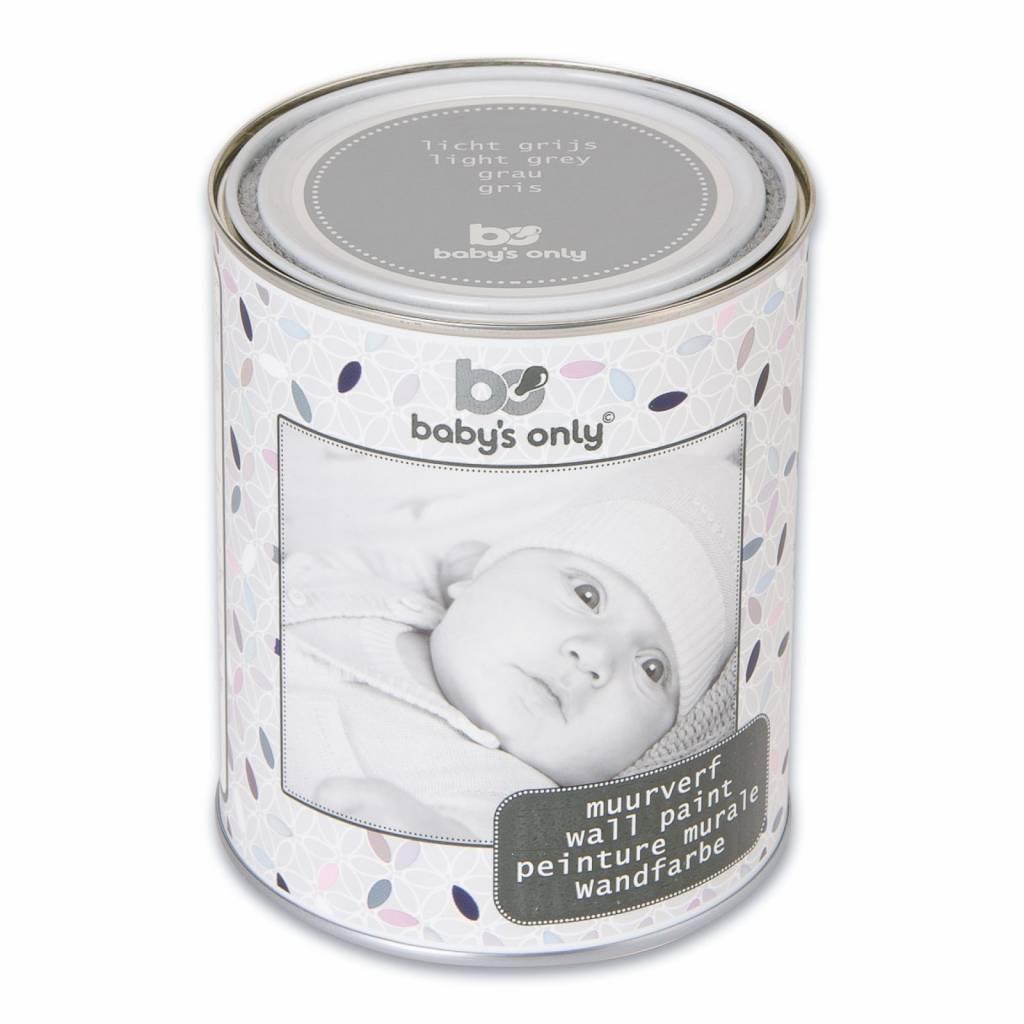 Baby's Only Muurverf Licht Grijs 1L