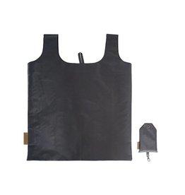 Zusss Nylon Boodschappentasje Off Black