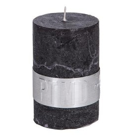 Rustic Charcoal Black Kaars 4x6 cm