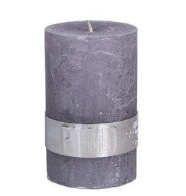 PTMD Rustic Suede Grey Kaars 5x8 cm