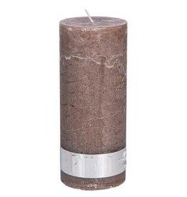 PTMD Rustic Ambient Brown Kaars 5x12 cm