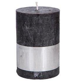 PTMD Rustic Charcoal Black Kaars 7x10 cm