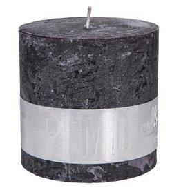 PTMD Rustic Charcoal Black 10x10 cm