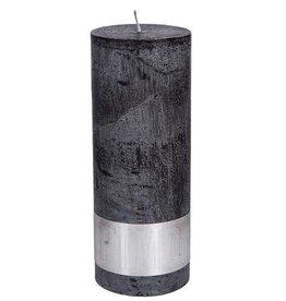 PTMD Rustic Charcoal Black Kaars 7x18 cm